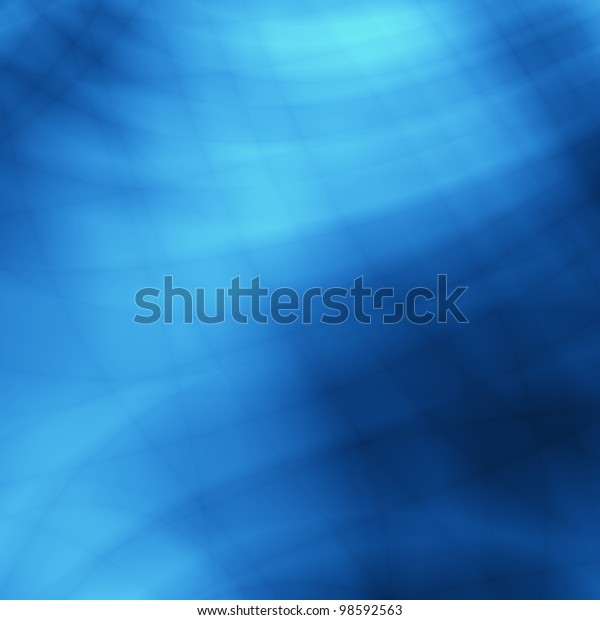 Underwater blue abstract creative art background