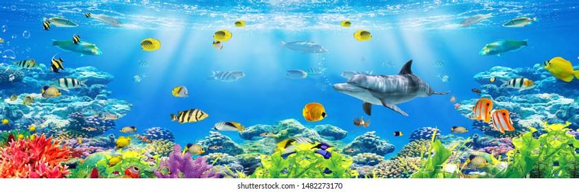 Imágenes Fotos De Stock Y Vectores Sobre 3d Wallpaper Ocean