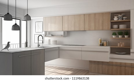 Modern Kitchen Pencil Images Stock Photos Vectors Shutterstock