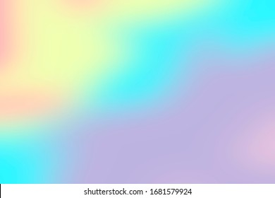 Unicorn Holo Graphic Background Texture