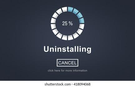 Uninstalling Data Download Loading Concept