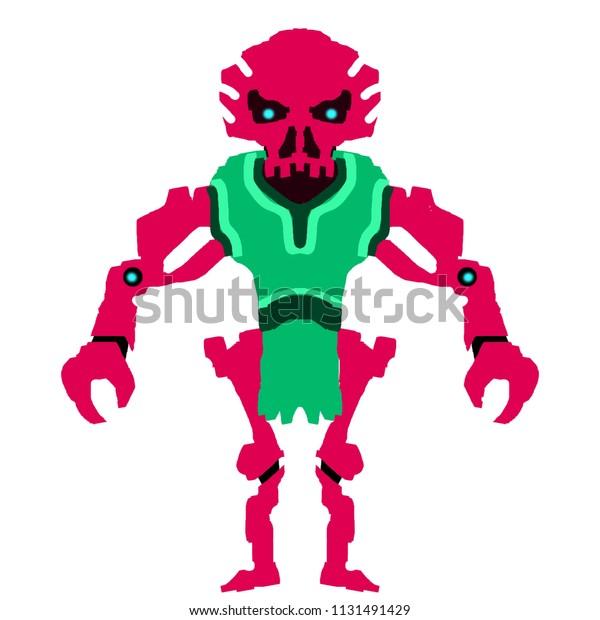 Fantasy Skeleton Warrior Art