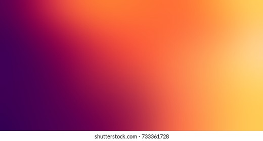 Unique rainbow empty background. Defocused colorful elegant background. Violet orange yellow blurred texture. Hot exclusive abstract background. Gala banner.