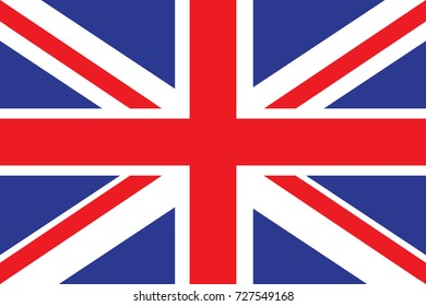 United Kingdom Flag illustration. United Kingdom Flag. National Flag of United Kingdom.