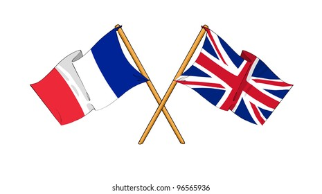 United Kingdom and France alliance and friendship