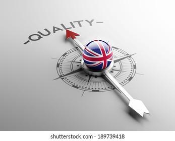 United Kingdom High Resolution Quality Concept