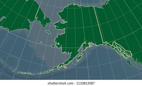 Royalty Free Alaska Physical Map Stock Images, Photos & Vectors ...