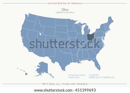 Royalty Free Stock Illustration of United States America Isolated ...