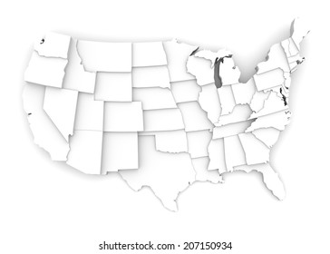 usa map alaska hawaii map separate stock vector royalty free Us Map with State Parks united states map by states in various high levels abstraction of parts of a whole