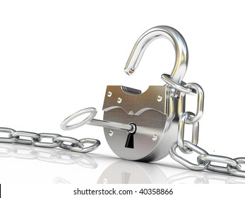 unlock chain