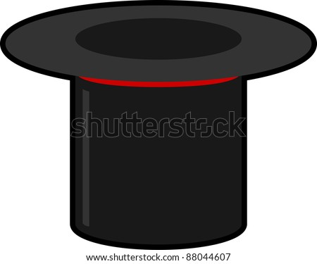 Upside Down Top Hat Stock Illustration 88044607 Shutterstock