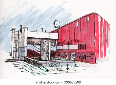 Urban Architecture Sketch