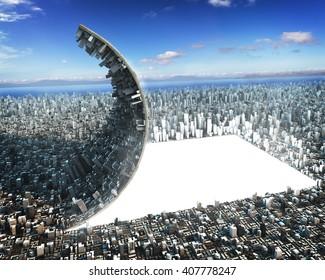 Urban development sci-fi