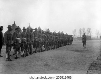 U.S. Army, African American soldiers, ca. 1917