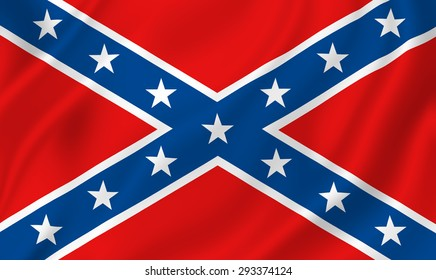 US Confederate flag background texture