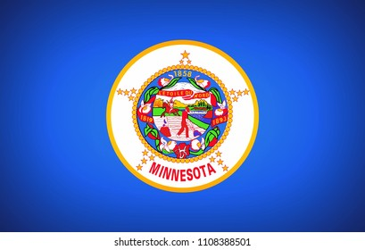U.S. state flag of Minnesota