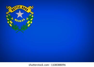 U.S. state flag of Nevada