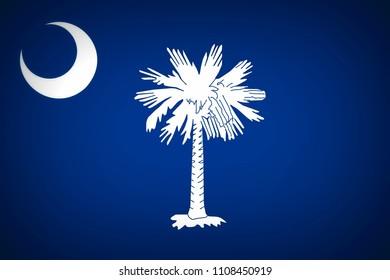 U.S. state flag of South Carolina