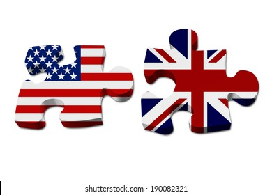 Uk And Usa Flag Images, Stock Photos & Vectors   Shutterstock