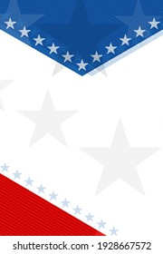 USA abstract background with elements of the American flag