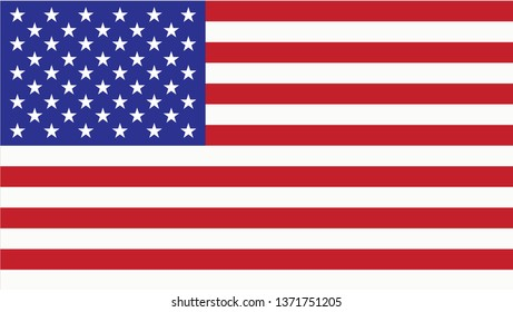 Usa flag as layout for web design for USA Independence Day 4th of July