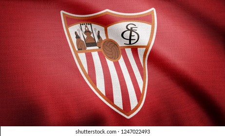 Sevilla Fc Logo Hd Stock Images Shutterstock