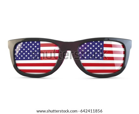 848b5fb882891 Royalty Free Stock Illustration of USA Stars Stripes Flag Sunglasses ...