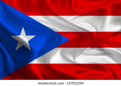 USA Territory and commonwealth flags: Puerto Rico
