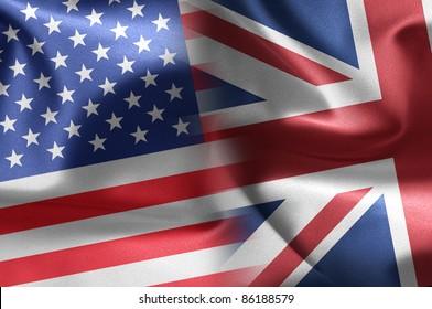 USA and UK illustration