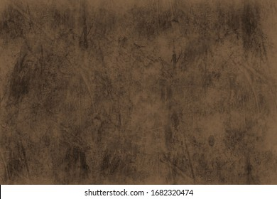 Using brush tool for making abstract pattern wall  and background on brown background