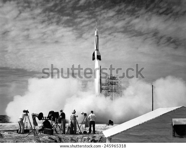 V-2 copy launched. The US rocket was based on the German V-2 missile and was the first missile launched at Cape Canaveral on July 24, 1950.