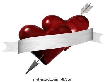 Valentine Hearts I profess my love