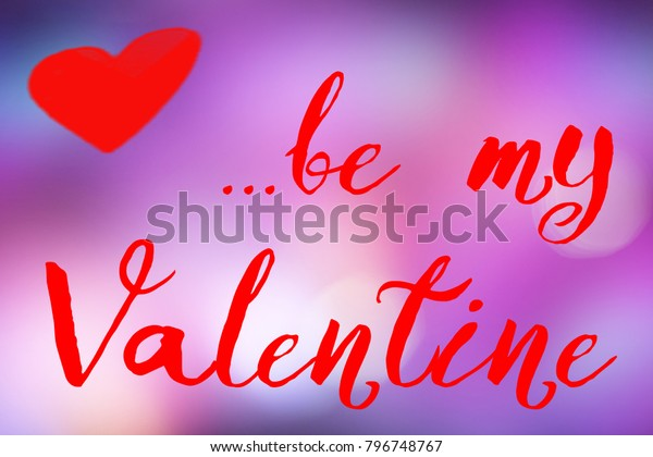Valentines Background Wallpaper Happy Valentine Be Stock