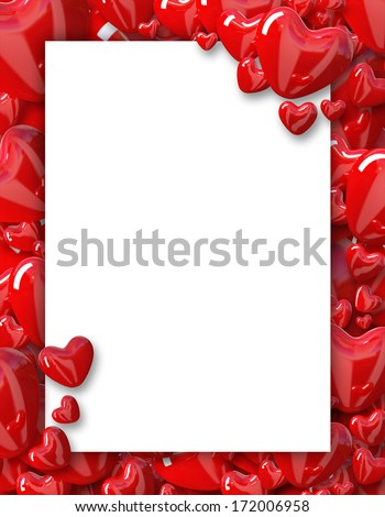 Royalty Free Stock Illustration Of Valentines Day Background Frame