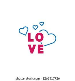 B N Letter Inside Heart St Stock Vector Royalty Free 746787988