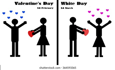 Valentine's Day and White Day