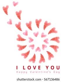 valentine's day:I love you
