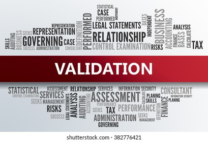 VALIDATION | Business Abstract Concept