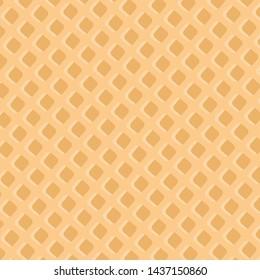 Vanilla Wafer Background : Illustration