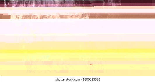 Vaporwave aesthetic pastel pink and yellow glitch art. Abstract futuristic texture background. Corrupted image file. Broken digital distortion gradient.