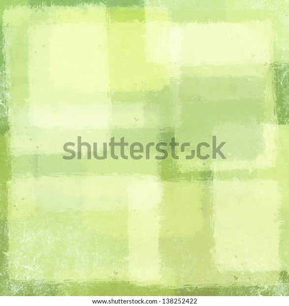 Variety of pastel vintage grunge textured backgrounds in light faded patches of quilt illustration design in pale green for Easter
