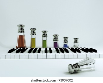 Various herbs and spices for your meals - it's like a piece of music, only in the food.