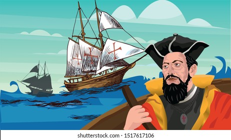 Vasco da Gama was a Portuguese explorer and the first European to reach India by sea.