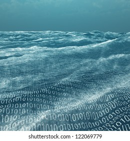 Vast binary code Sea