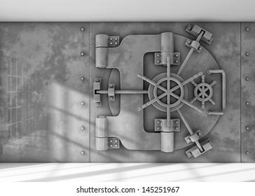 Vault locked
