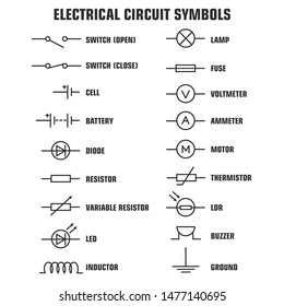 Circuit Diagram Symbols Images, Stock Photos & Vectors | ShutterstockShutterstock