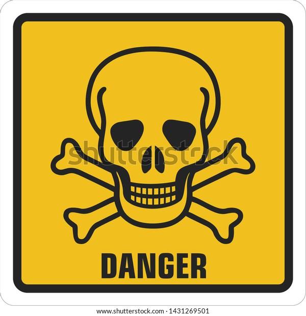 Giftig zeichen
