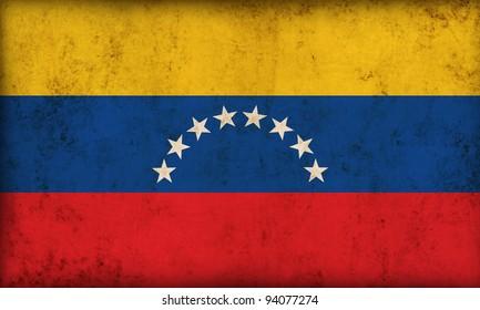 Venezuela flag background