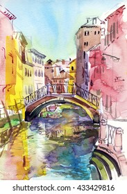 Venice. Watercolor