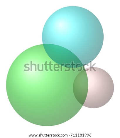 venn diagram for transitively intersecting sets